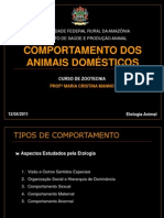 AULA 03 - Bases comportamentais Aves e Suínos