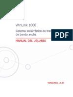 WinLink 1000 User Manual Spanish
