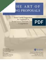 Przeworski y Salomon.SSRC.Cómo escribir propuestas-1