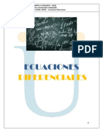MODULO Ecuaciones Diferenciales 2 2011