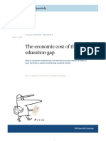 Cost of the Education Gap