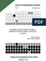 Material de apoio didático para o primeiro contato formal com Física Fluidos