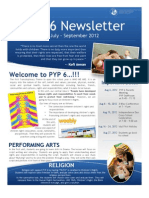 PYP 6 Who We Are Newsletter