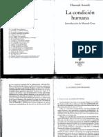 Hannah+Arendt+ +La+Condicion+Humana