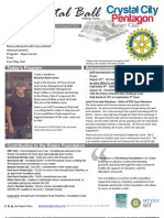 Aug 8, 2012 Weekly Bulletin - Crystal City-Pentagon Rotary Club