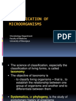 4. Classification of Microorganisms
