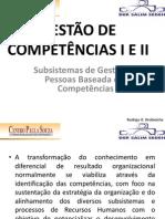 Subsistemas de Gestão de Pessoas baseada em Competências