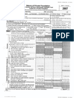 Verizon Foundation IRS 990 -- Year 2007