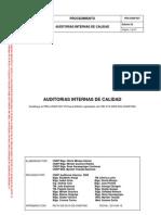 PRA-CNSP-007 Auditorias Internas de La Calidad
