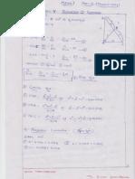 Maths-1 Part-2 Ch-5 Properties of Triangle