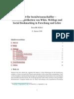 Web 2.0 für Sozialwissenschaftler