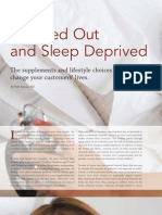 Integrated Health Retailer Magazine - Stressed Out & Sleep Dreprived Supplements & Lifestyle Choices That Can Change Lives