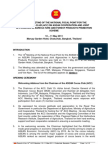 Report of the 14th Meeting on the National Focal Point for the Asean Cocoa Club
