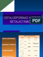 Cefalosporinas y Otros