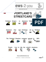 Regular, Vol. XIII, Edition 9, Portland's Streetcars, October 25, 2010
