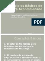 Principios Básicos de Aire Acondicionado