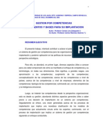 Antecedentes Mcclelland,Gonzci,Mertens,Gestion Por Competencias