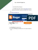 Panduan Pembuatan Blog bagi Pemula
