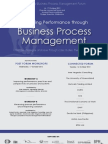 Improving Performance Through Business Process Management