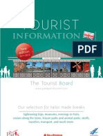 Tourist information 2012