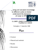 Integration of plant and soil knowledge