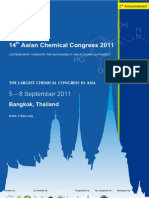 14th Asian Chemical Congress 2011