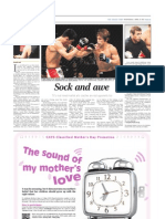 The Straits Times Life! Interview with MMA FIghters Dominick Cruz and Urijah Faber