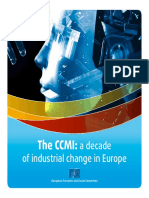 CCMI. A DECADE OF INDUSTRIAL CHANGE IN EUROPE