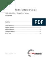 6300 New Installation Single User License