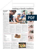 The Sunday Times - Families who make rice dumplings at home