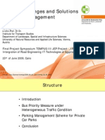 IREITEU Future Challenges and Solutions in Traffic Management
