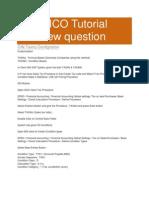 SAP FICO Tutorial Interview Question