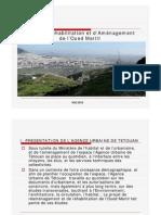 Agence Urbaine_Projet Oued Martil_2011
