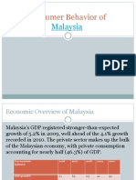 Consumer Behavior of Malaysia