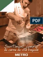 Sortiment Complet de Carne de Vita Frageda