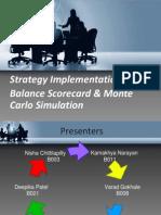 Strategy Implementation-Balanced Score Card