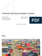 ICCC2012 Dublin - Creatively subverting messages in posters (Gatti Guerini Stock Strapparava)