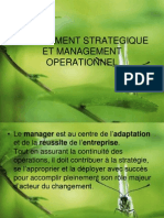 Management Strategi Que Et Management Operation Nel