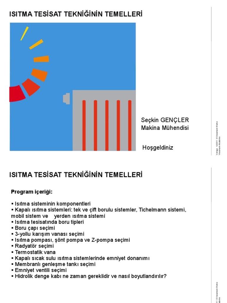 Açık ısıtma sistemi: inşaat tanımı