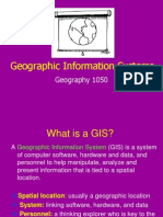 Geography 1050 5 GIS Powerpoint