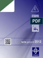 Tarifa General 2012 Web 2