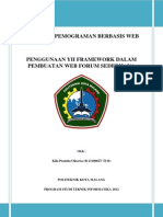 Makalah Framework Yii Kiki