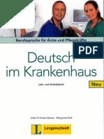 Langenscheidt - Deutsch Im Krankenhaus Neu - Lehr- Und Arbeitsbuch