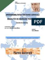 Lucrare diploma hipersensibilitatea dentinara