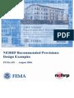 2003 NEHRP Seismic Regulation for New Buildings