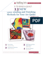 QA Quilt Binding Methods
