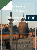 L'importance de la mosquée Al-Aqsa