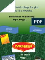 Maggi Project