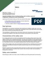 Spiraxsarco.com-Safety Valve Installation