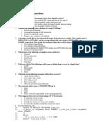 Plsql Questions